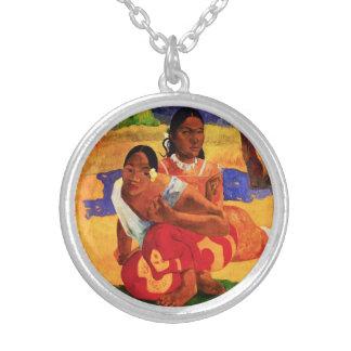 Gauguin cuando es usted que consigue el collar cas
