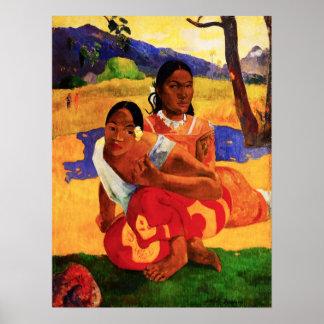 Gauguin cuando es usted que consigue el poster cas