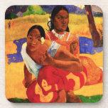 Gauguin cuando es usted que consigue el práctico d posavasos