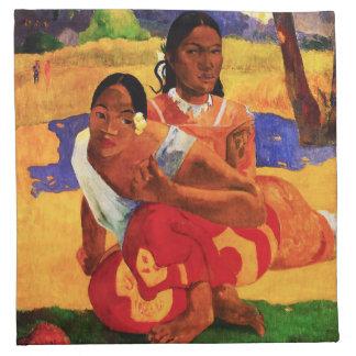 Gauguin cuando es usted que consigue la servilleta