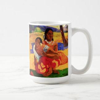 Gauguin cuando es usted que consigue la taza