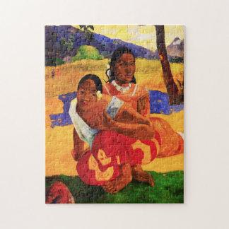 Gauguin cuando es usted que consigue rompecabezas