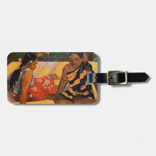 Gauguin French Polynesia Tahiti Women Bag Tags