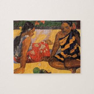 Gauguin French Polynesia Tahiti Women Jigsaw Puzzle