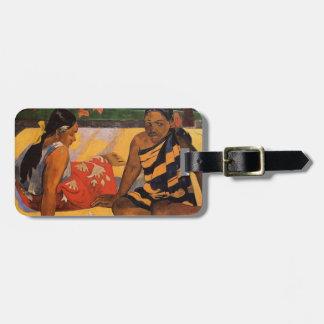 Gauguin French Polynesia Tahiti Women Luggage Tag