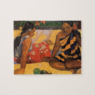 Gauguin French Polynesia Tahiti Women Puzzle