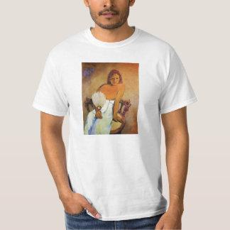 Gauguin Girl With A Fan T-shirt