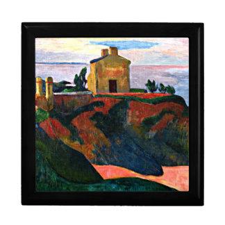 Gauguin - House at Pan-Du, Paul Gauguin painting Gift Box
