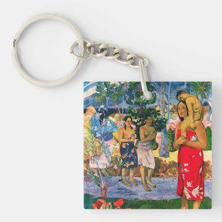 Gauguin Ia Orana Maria Key Chain