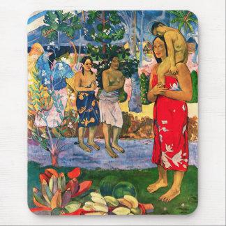 Gauguin Ia Orana Maria Mouse Pad