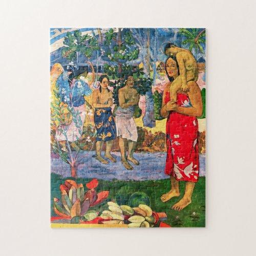 Gauguin Ia Orana Maria Puzzle
