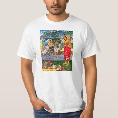 Gauguin Ia Orana Maria T_shirt
