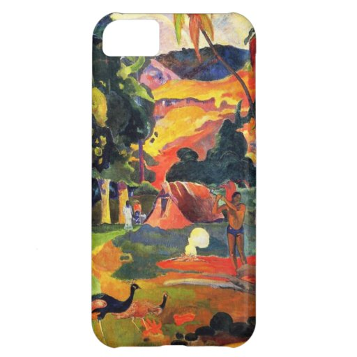 Gauguin Landscape with Peacocks iPhone 5 Case