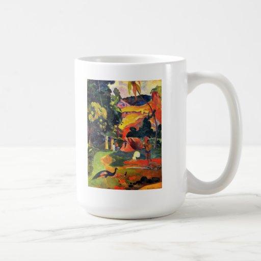 Gauguin Landscape with Peacocks Mug