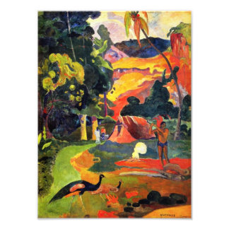 Gauguin Landscape with Peacocks Photo Print