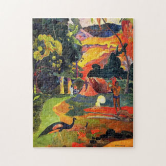 Gauguin Landscape with Peacocks Puzzle