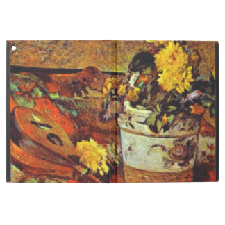 Gauguin - Mandolina and Flowers-1883 iPad Pro Case