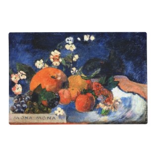 Gauguin - Mona Mona, Tasty Placemat at Zazzle