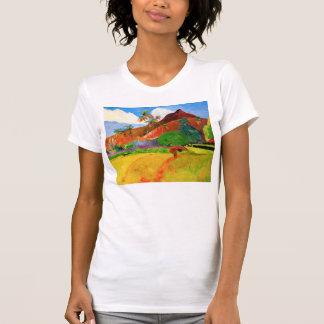 Gauguin Mountains in Tahiti T-shirt