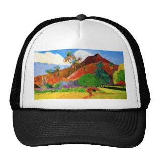 Gauguin Mountains in Tahiti Trucker Hat