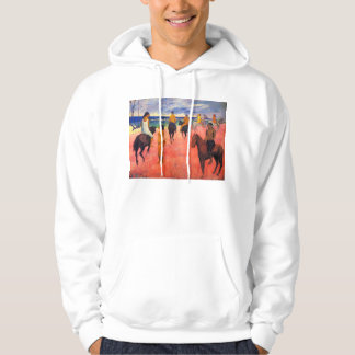 Gauguin Riders on the Beach Hoodie