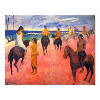 Gauguin Riders on the Beach Invitations