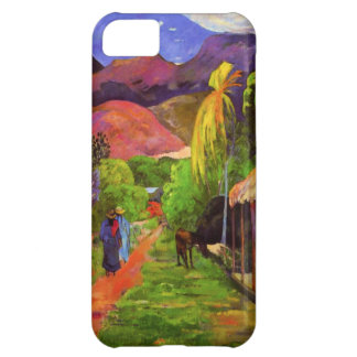 Gauguin Road in Tahiti iPhone 5 Case