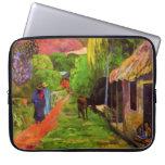 Gauguin Road in Tahiti Laptop Sleeve