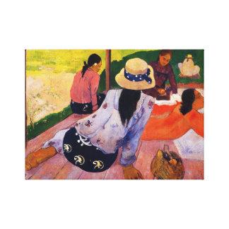 Gauguin Siesta Canvas Print