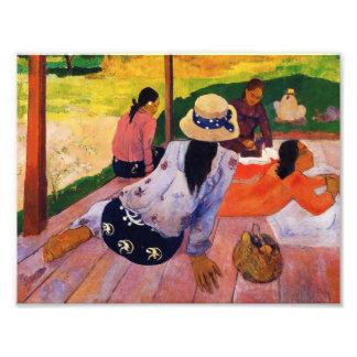 Gauguin Siesta Print