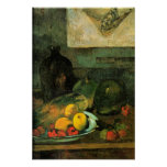 Gauguin - Still Life in Front of a Stich Print
