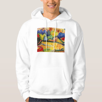 Gauguin Tahitian Landscape Hoodie
