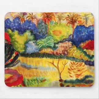Gauguin Tahitian Landscape Mouse Pad