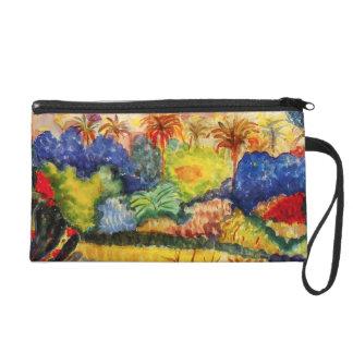 Gauguin Tahitian Landscape Wristlet