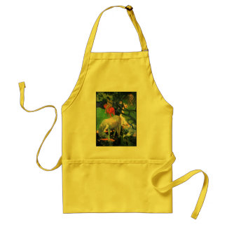 Gauguin The White Horse Aprons