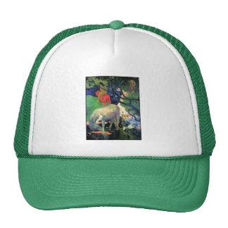Gauguin: The White Horse Trucker Hat