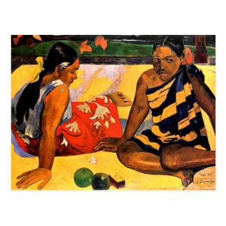 Gauguin - What s New Painting by Paul Gauguin Post Card