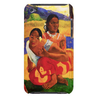 Gauguin When Are You Getting Married iPod Case Barely There iPod Cover