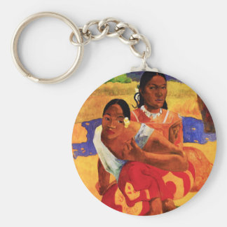 Gauguin When Are You Getting Married Key Chain