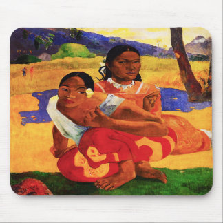 Gauguin When Are You Getting Married Mouse Pad