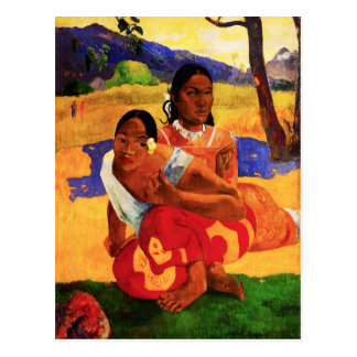Gauguin When Are You Getting Married Postcard