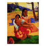 Gauguin When Are You Getting Married Poster