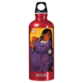 Gauguin Woman With A Mango Aluminum Water Bottle