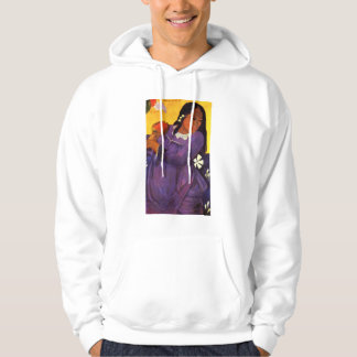 Gauguin Woman With A Mango Hoodie