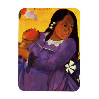 Gauguin Woman With A Mango Magnet