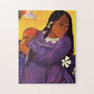 Gauguin Woman With A Mango Puzzle