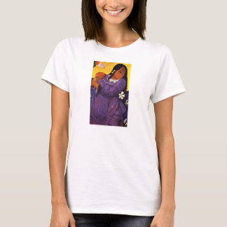 Gauguin Woman With A Mango T-shirt