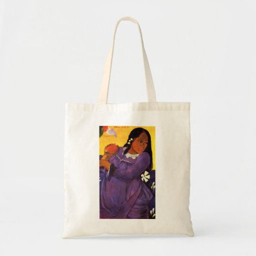 Gauguin Woman With A Mango Tote Bag