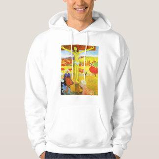 Gauguin Yellow Christ Hoodie