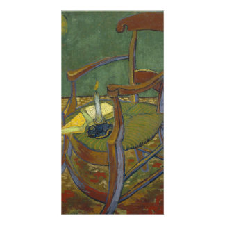 Gauguin's Chair by Vincent Van Gogh Card